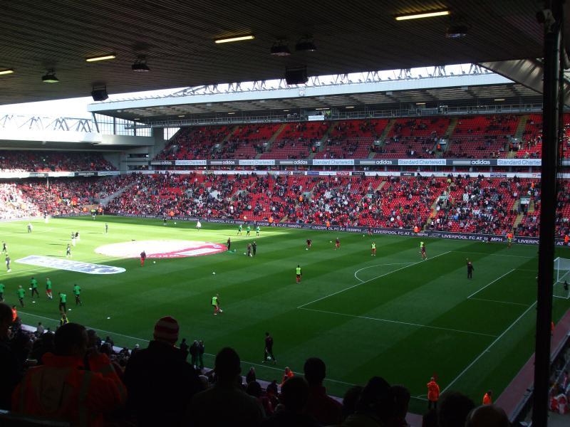 Liverpool Fc World Anfield Stadium