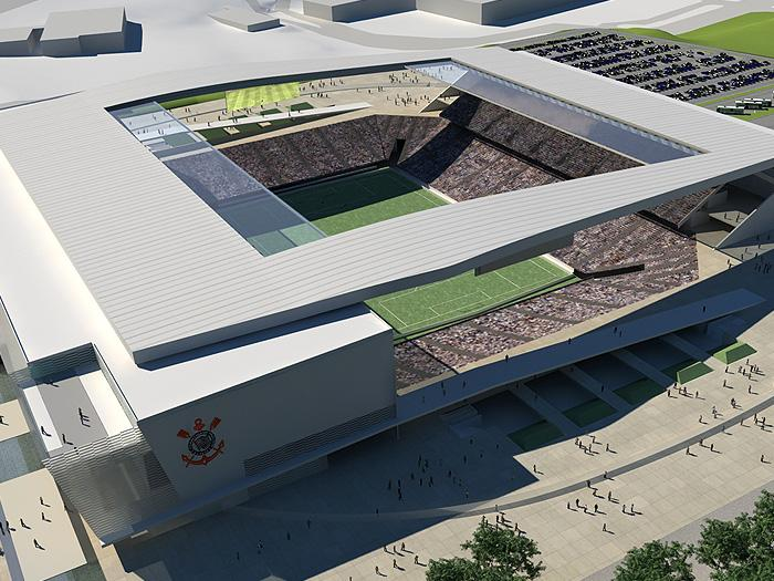 استادیوم  Arena Corinthians ، ورزش و معماری