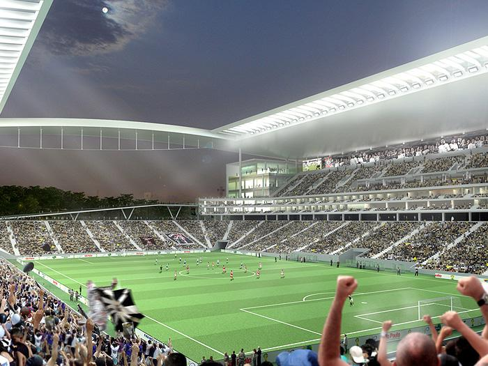 new corinthians stadium