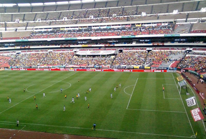 Estadio azteca mexico city the stadium guide for Puerta 1 estadio azteca