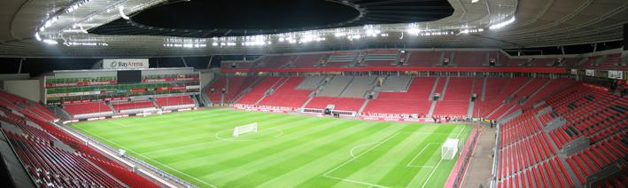 bayarena leverkusen the stadium guide. Black Bedroom Furniture Sets. Home Design Ideas