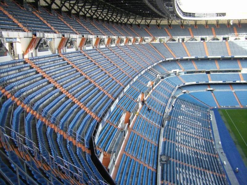 Estadio Santiago Bernabeu Madrid The Stadium Guide