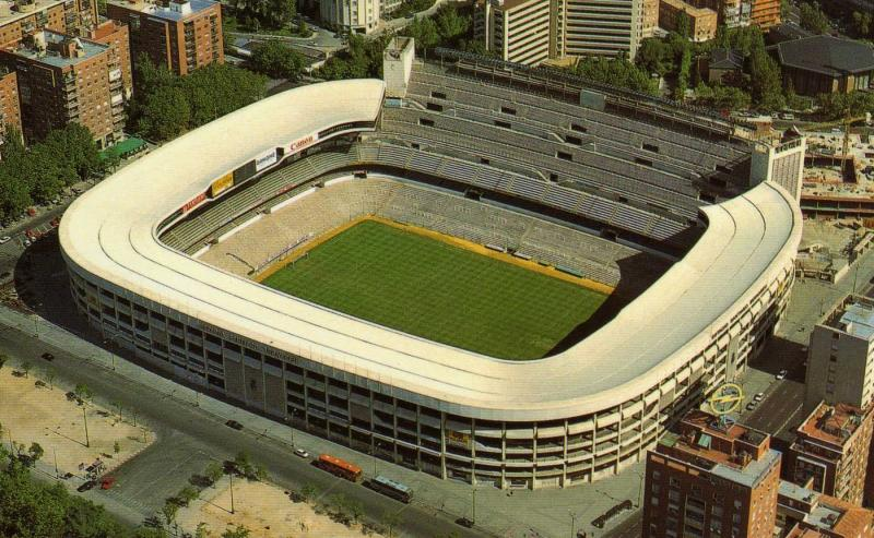 Estadio santiago bernabeu madrid the stadium guide for Puerta 38 santiago bernabeu