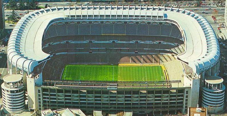 Estadio santiago bernabeu madrid the stadium guide for Puerta 23 bernabeu