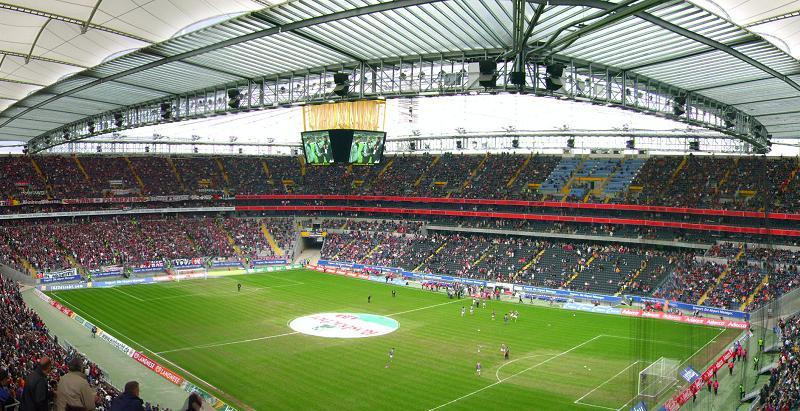 айнтрахт франкфурт стадион фото