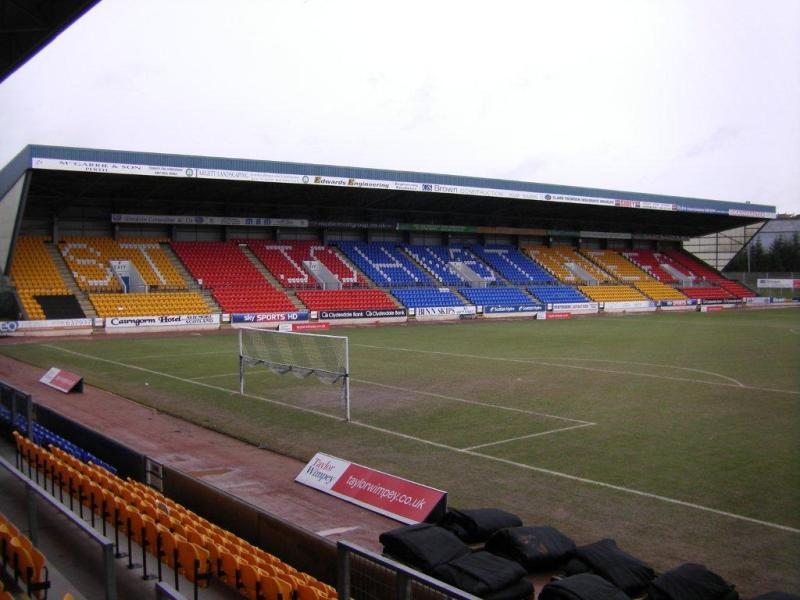 Mcdiarmid park st johnstone perth the stadium guide for A t the salon johnstone