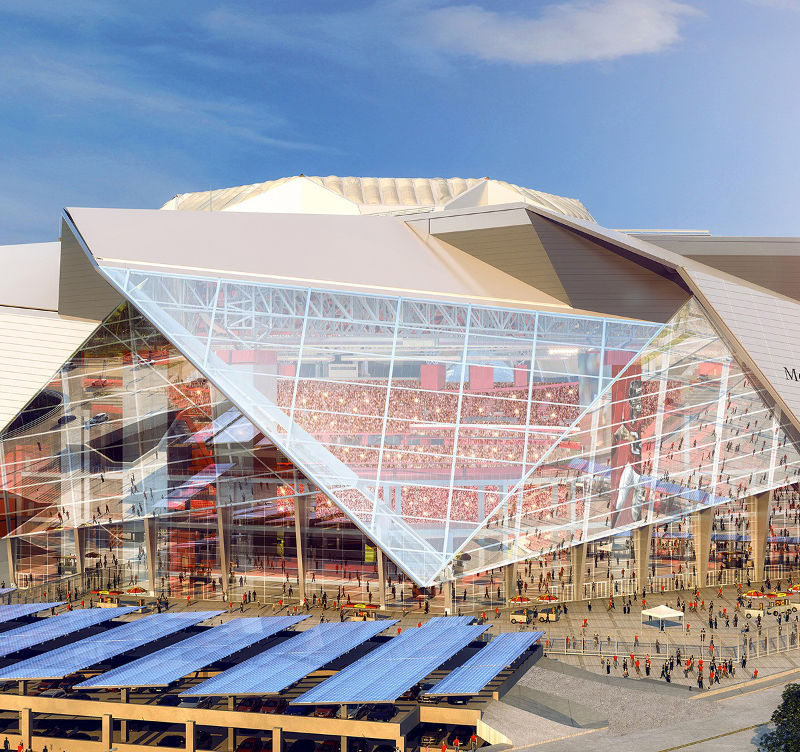 Mercedes benz stadium atlanta the stadium guide for Atlanta ga mercedes benz stadium