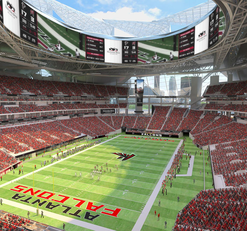 mercedes benz stadium atlanta the stadium guide