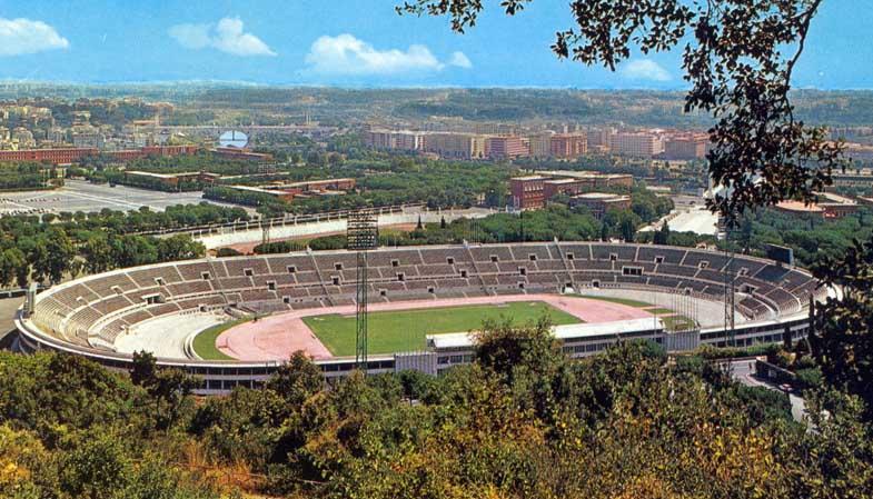 rom olympiastadion