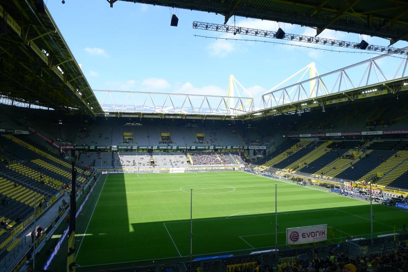 signal iduna park dortmund the stadium guide. Black Bedroom Furniture Sets. Home Design Ideas