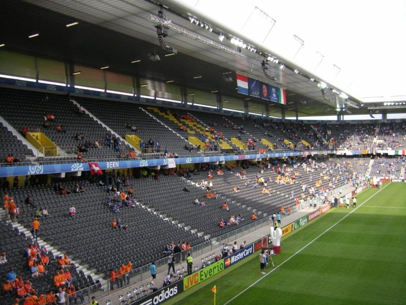 Stade de Suisse - Bern... Group Of Young People