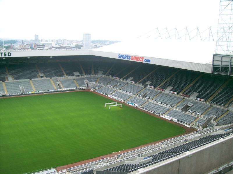 St James Park Changing Rooms
