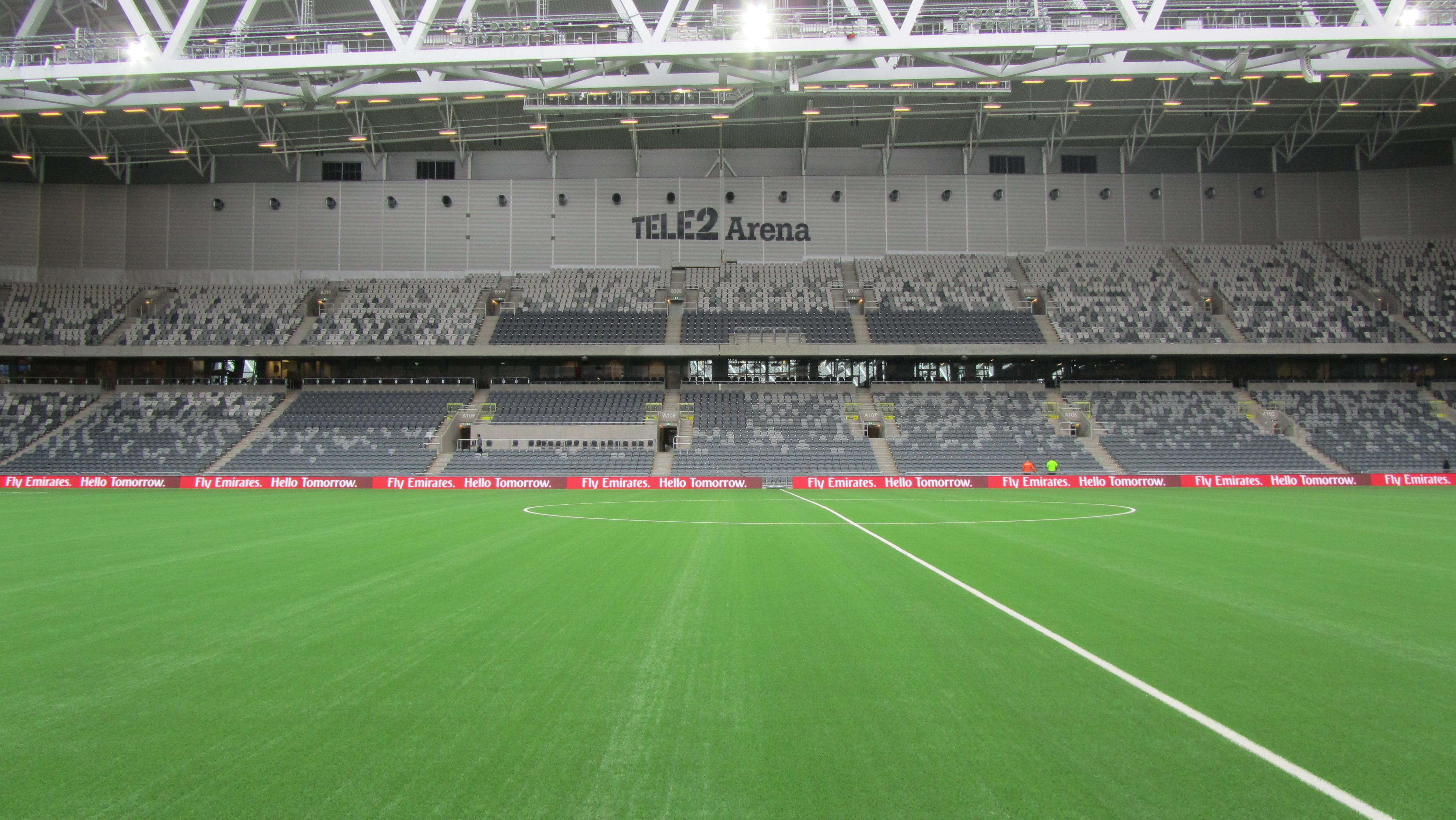 Tele2 Arena - The Stadium Guide