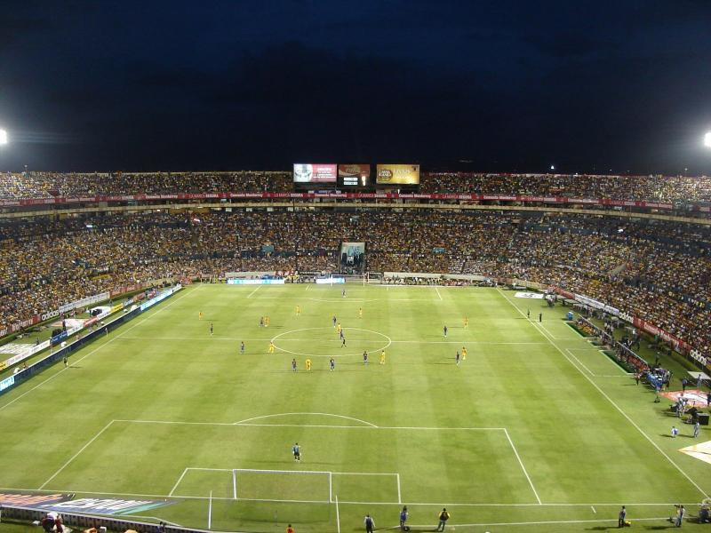 Estadio universitario tigres monterrey the stadium guide for Puerta 5b estadio universitario