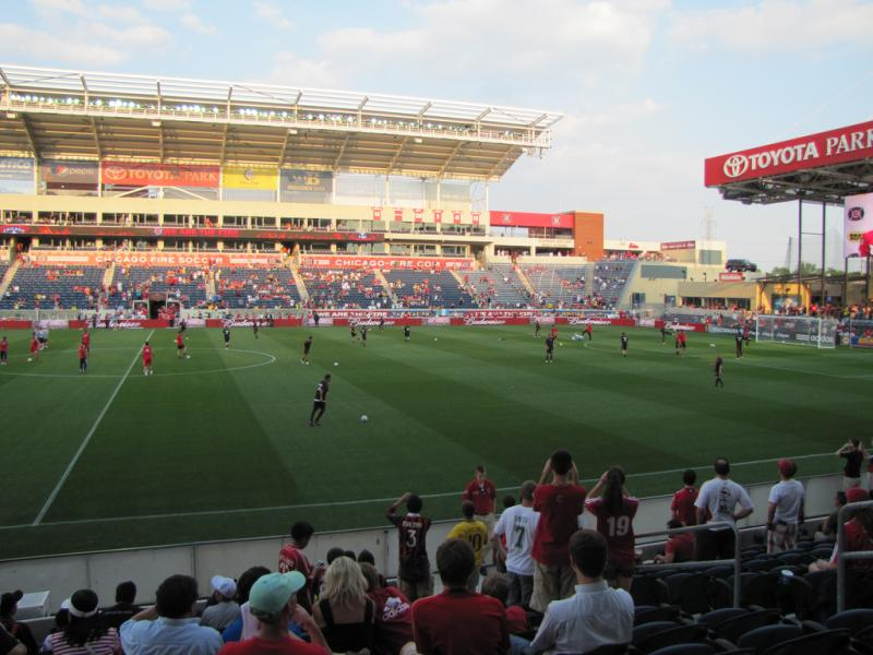 Toyota Park Chicago Bridgeview The Stadium Guide