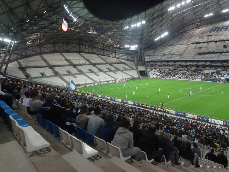 orange velodrome stade velodrome marseille the stadium guide. Black Bedroom Furniture Sets. Home Design Ideas