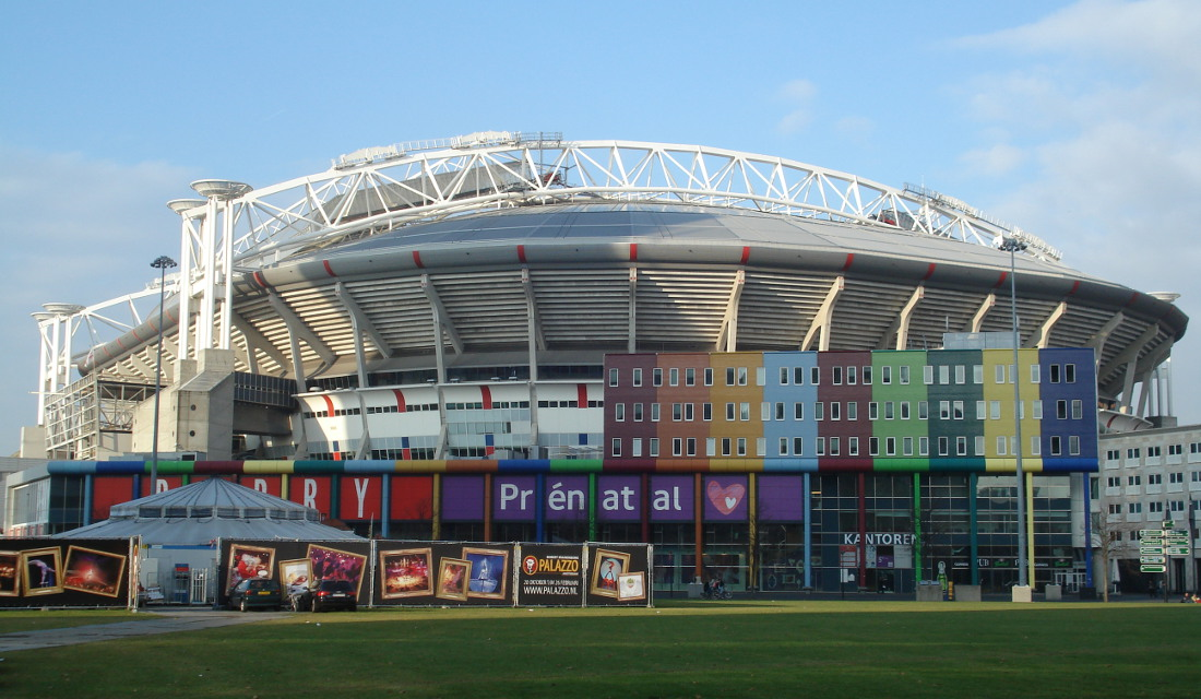 Amsterdam arena the stadium guide for Arena amsterdam