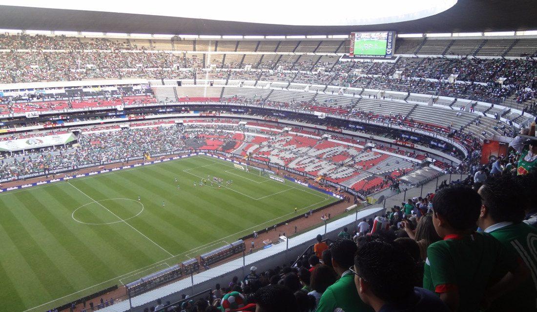 The stadium guide mexico city football guide for Puerta 1 estadio azteca