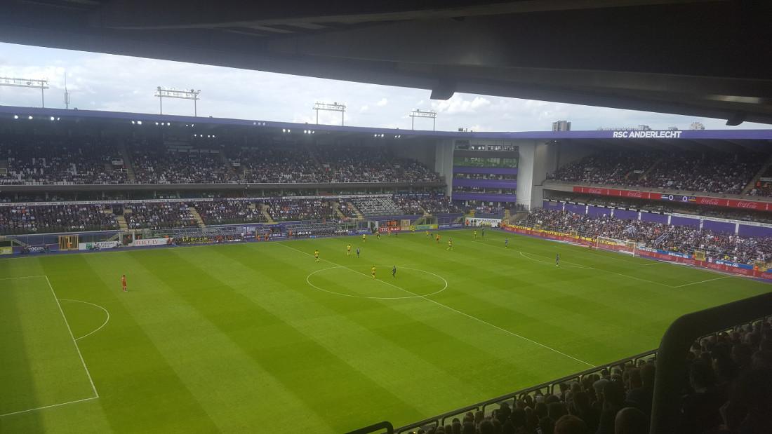 Constant Vanden Stock Stadion Anderlecht Brussels