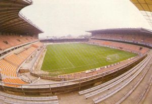 Constant vanden Stock Stadion in the late 1980s