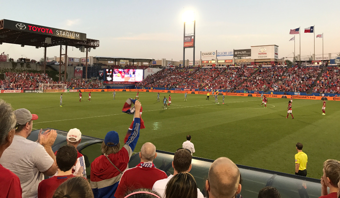 Toyota Stadium Dallas