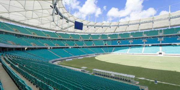 استادیوم Fonte Nova ، معماری و ورزش