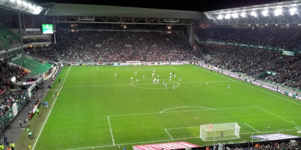 stade geoffroy guichard the stadium guide. Black Bedroom Furniture Sets. Home Design Ideas