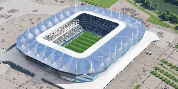 Kaliningrad Stadium Russia 2018 World Cup The Stadium