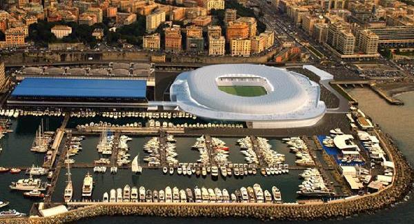 Proposed Sampdoria stadium