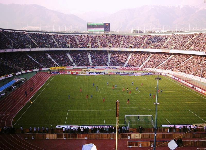 Image result for Azadi stadium