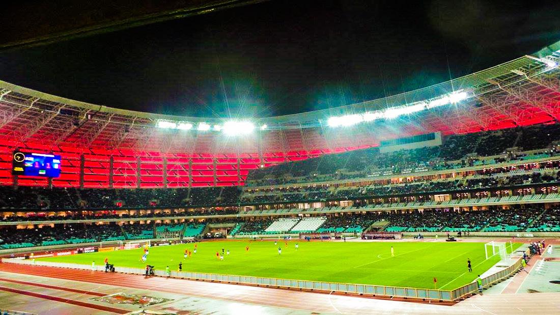Image result for olympic stadium baku