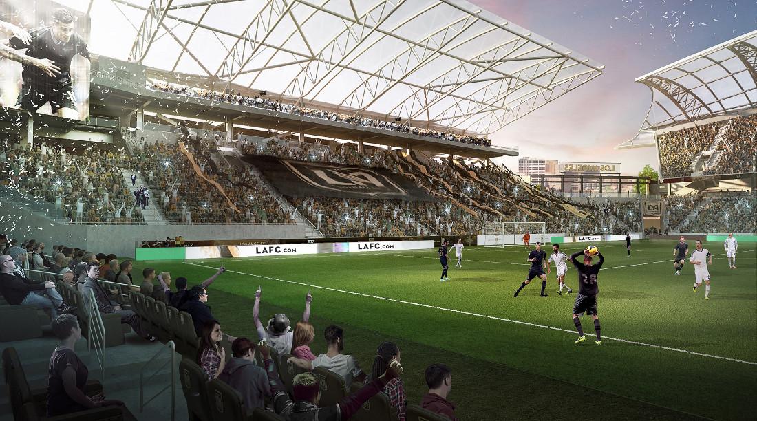 Banc Of California Stadium New Lafc Stadium The Stadium