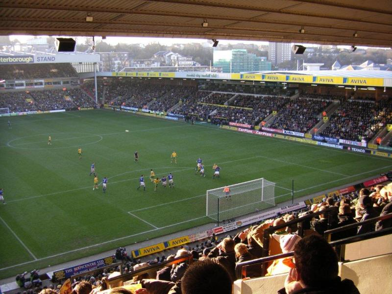 Image result for carrow road stadium