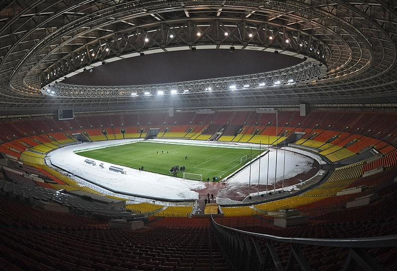 "Luzhniki Stadium before 2014 | © Panoramio user <a href=""http://www.panoramio.com/user/2333416"">V&A Dudush</a>."