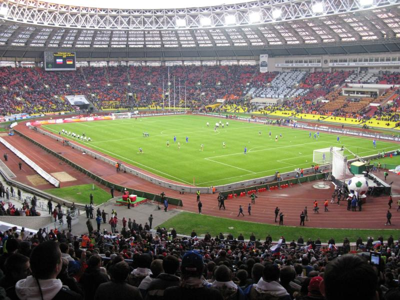 Luzhniki Stadium before 2014