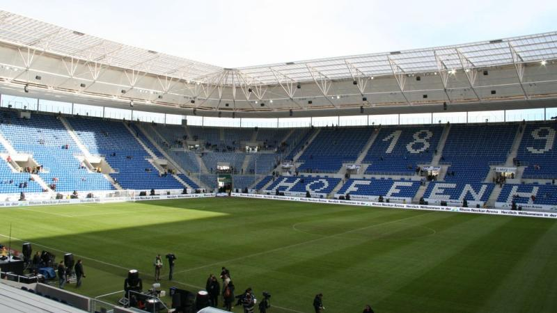 Map Of Germany Hoffenheim.Wirsol Rhein Neckar Arena Hoffenheim The Stadium Guide