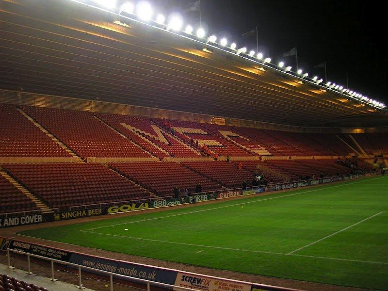 Riverside Stadium Middlesbrough The Stadium Guide