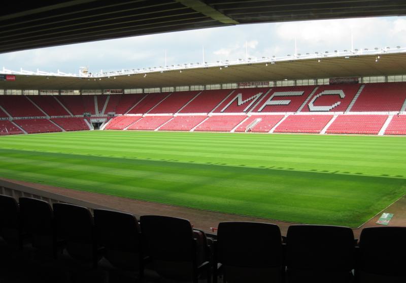 - Guide - Middlesbrough Riverside Stadium Stadium The