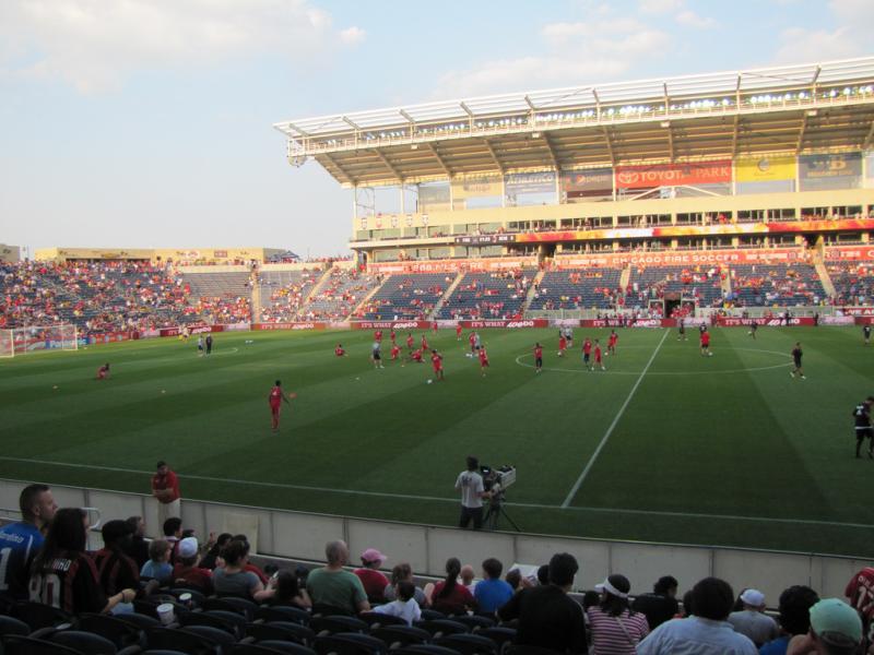 Toyota Downtown La >> Toyota Park - Chicago / Bridgeview - The Stadium Guide