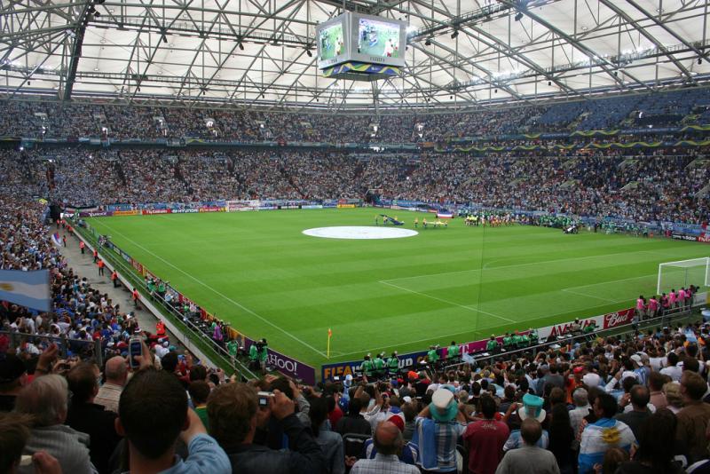 Фотография стадиона шальке 04