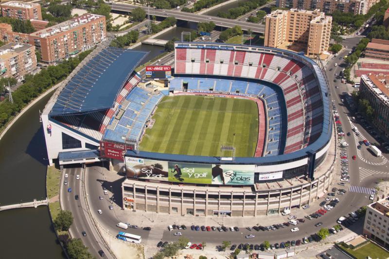 estadio vicente calderon madrid the stadium guide