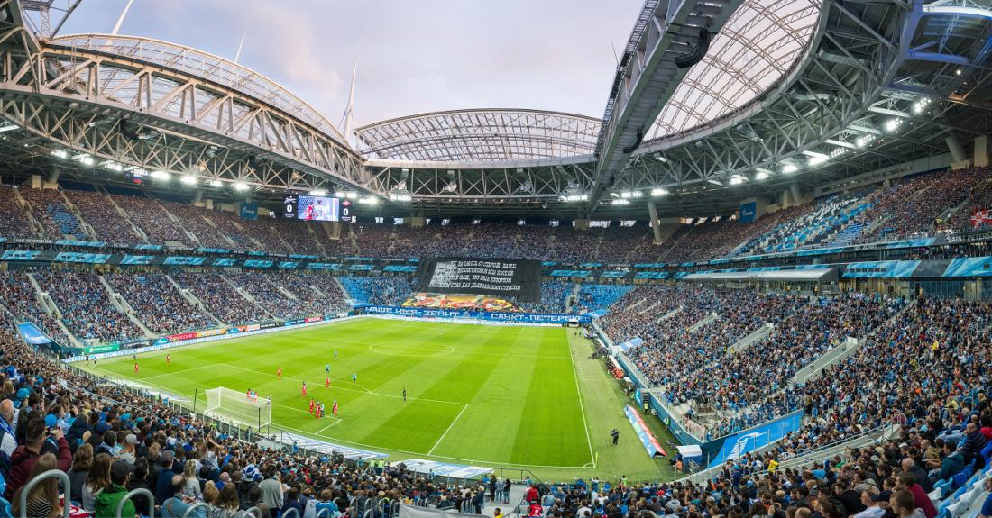 Kết quả hình ảnh cho Saint Petersburg Stadium