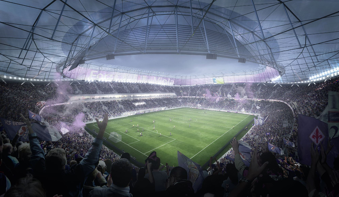 Nuovo Stadio Fiorentina New Fiorentina Stadium The