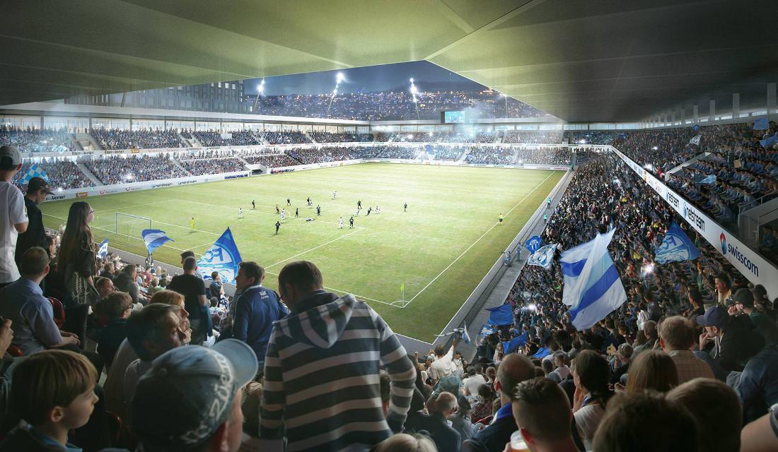 Neue Hardturm-Stadion