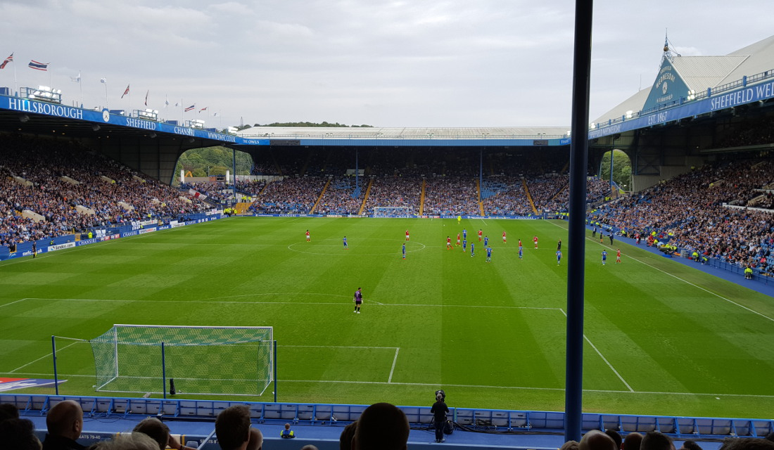 Image result for hillsborough stadium