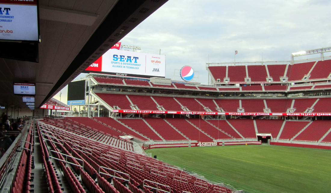 Levis Stadium Capacity >> Levi S Stadium Santa Clara The Stadium Guide