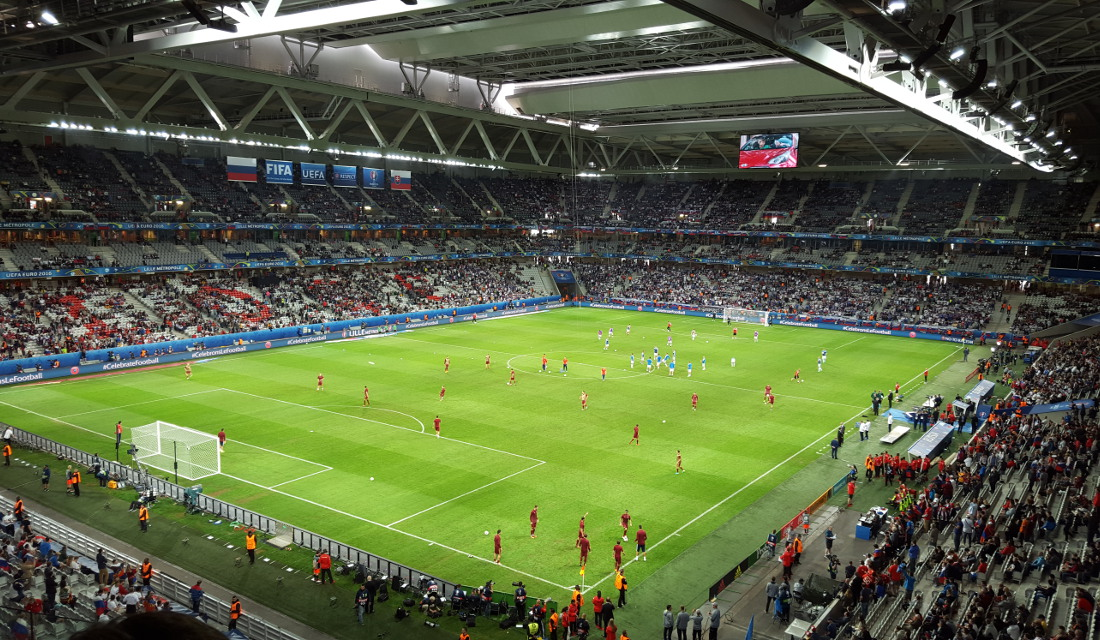Map Of France Euro 2017 Stadiums.Uefa Euro 2016 Stadiums The Stadium Guide
