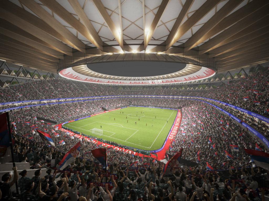 Nový stadion srbské reprezentace?