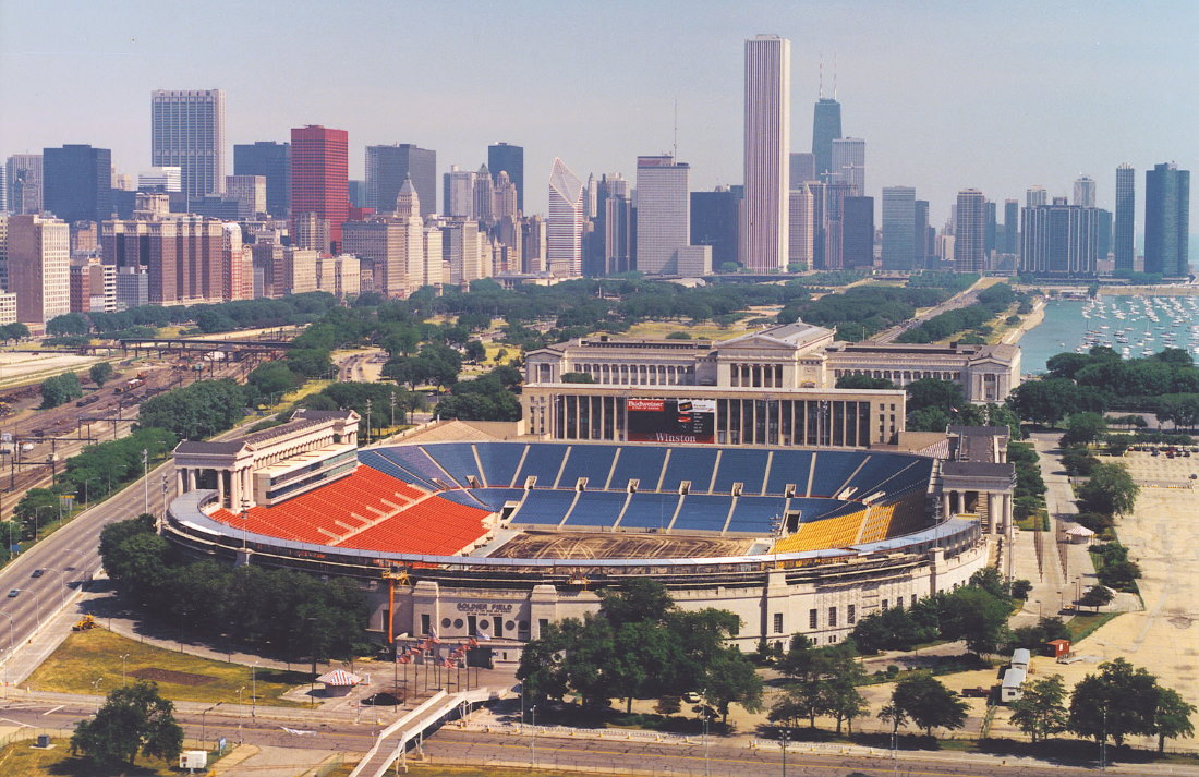 Soldier Field in 1988